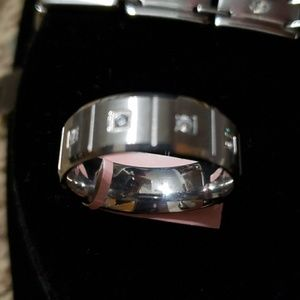 Other - Classy Men's band ring or wedding ring. Size 12